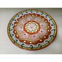 Plate 18 cm traditional ceramic