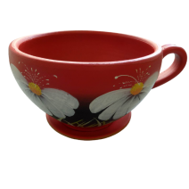 Ceramic flower pot - a cup small size
