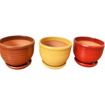Ceramic flower pot - small size