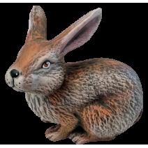 Ceramic rabbit two shapes - garden figure