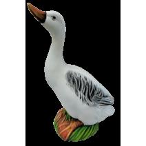 Ceramic goose - garden figure