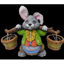Ceramic rabbit with mare