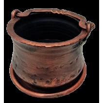 Ceramic hahdmade flower pot