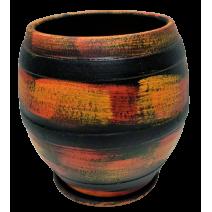 Ceramic flower pot - cask small size