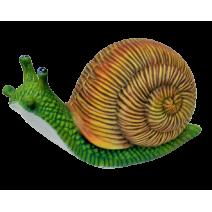 Ceramic snail figure