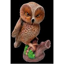 Ceramic owl - garden figure