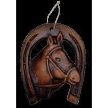 Ceramic horseshoe souvenir