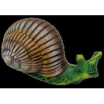 Ceramic snail - small figure