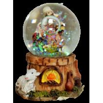 Nativity small water ball