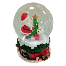 Christmas water ball - big size with music and LED