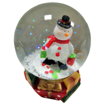 Christmas water ball - middle size with LED