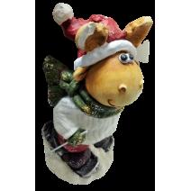 Decorative figure of deer - 36cm