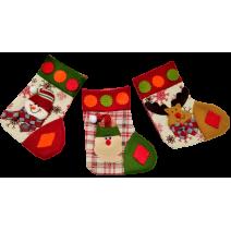 Christmas sock - three different designs