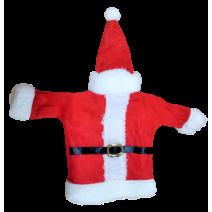 Christmas cloth for bottle