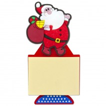 Magnetic Christmas Notebook - Santa Claus