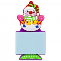 Magnetic Christmas Notebook - Christmas Snowman