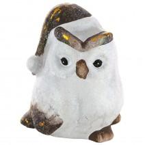 Decorative ceramic figurine Owl