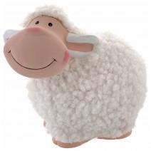 Decorative sheep ceramic money bank