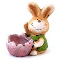 Easter egg stand - rabbit
