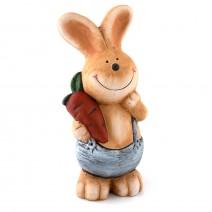 Ceramic rabbit money bank