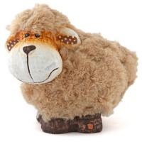 Decorative ceramic sheep - set of 12 pieces