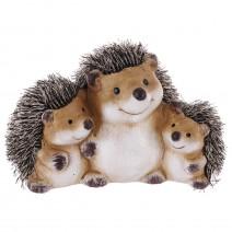 Hedgehogs troika family - ceramic money bank