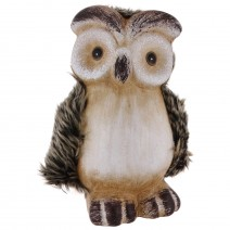 Owl ceramic money bank