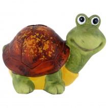 Turtle ceramic money bank