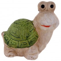 Set of decorative figures - turtles and snail