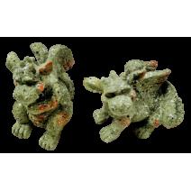 Dragon poliresin figure