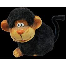Ceramic monkey figure