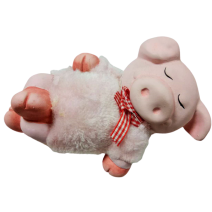 Ceramic pig money bank
