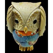 Poliresin decorative figure of owl - 3 variants