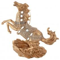 Decorative figure - horse - bottle holder
