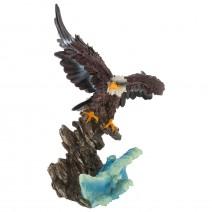 Decorative figure -  eagle bottle holder