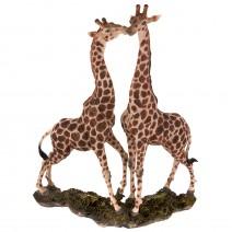 Decorative figure - a pair of giraffes