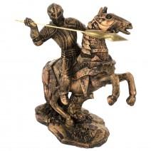 Decorative figure - Knight on horseback