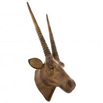 Wall decorative figure - head antelope