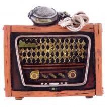 Magnet souvenir - retro radio