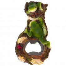 Magnet souvenir - bottle opener with frogs Bulgaria