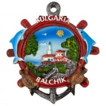 Poliresin magnet rudder with ancor Balchik