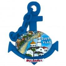 Magnet souvenir Sveti Vlas - anchor
