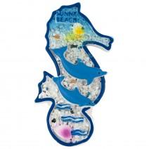 Souvenir magnet - Sunny Beach - sea horse