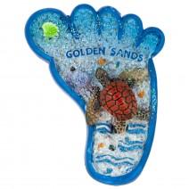 Magnet souvenir - Golden Sands - foot