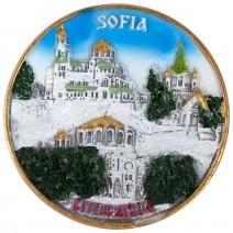 Magnet souvenir - Sofia 1