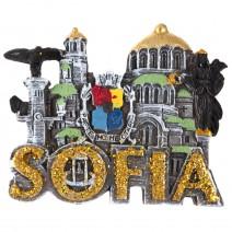 Magnet souvenir - Sofia 2