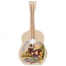Magnet wooden souvenir- Musical Instrument 1