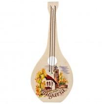 Magnet wooden souvenir- Musical Instrument 3