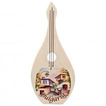 Magnet wooden souvenir- Musical Instrument 4