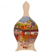 Magnet with landscape Bulgaria - wine vessel